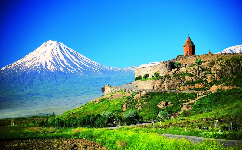 Красоты грузии, горы, природа